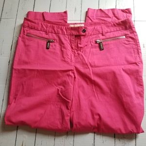 🆕Michael Kors Pink Ankle Length Pants Size 14🆕